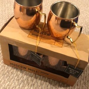 4 Moscow mule cups